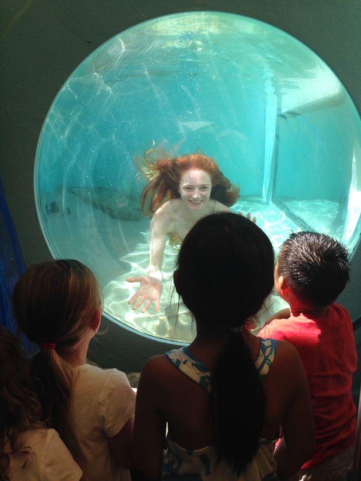 Aliso Laguna News Mermaid Breakfast Gives Visitors The