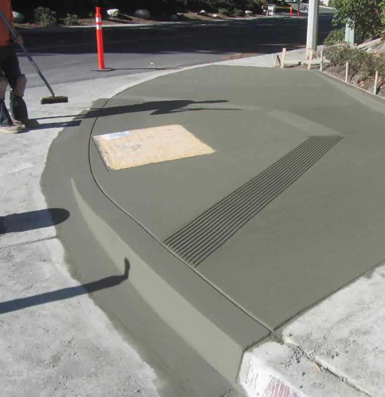 Aliso Laguna News Curb Ramp Project Meant To Benefit