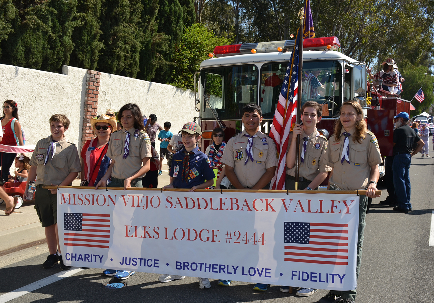 Aliso Laguna News Mission Viejo Elks Let Freedom Ring